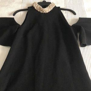 Rachel Zoe cold shoulder dress